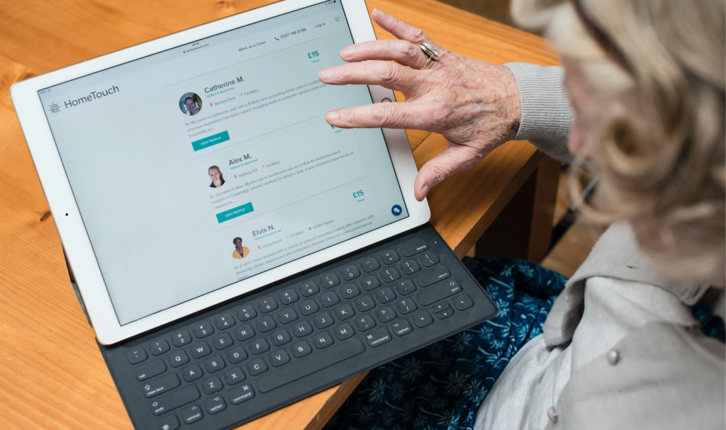 Tablet for the elderly