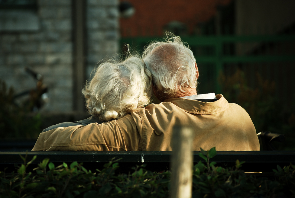 caring for an elderly spouse