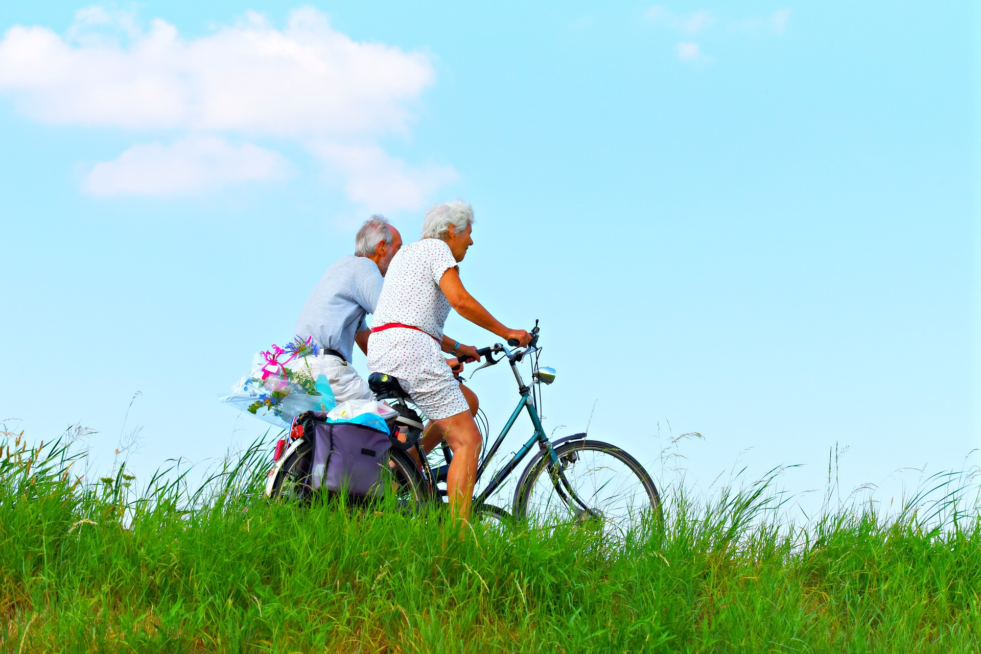 Exercise for elderly people