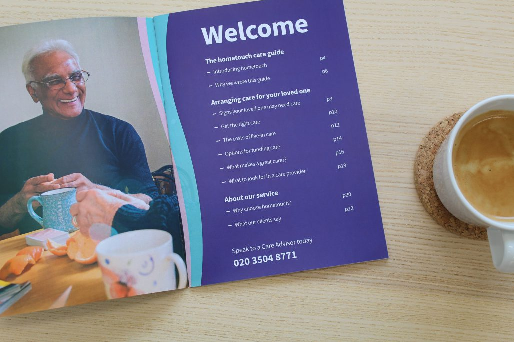 Get our guide to live-in care