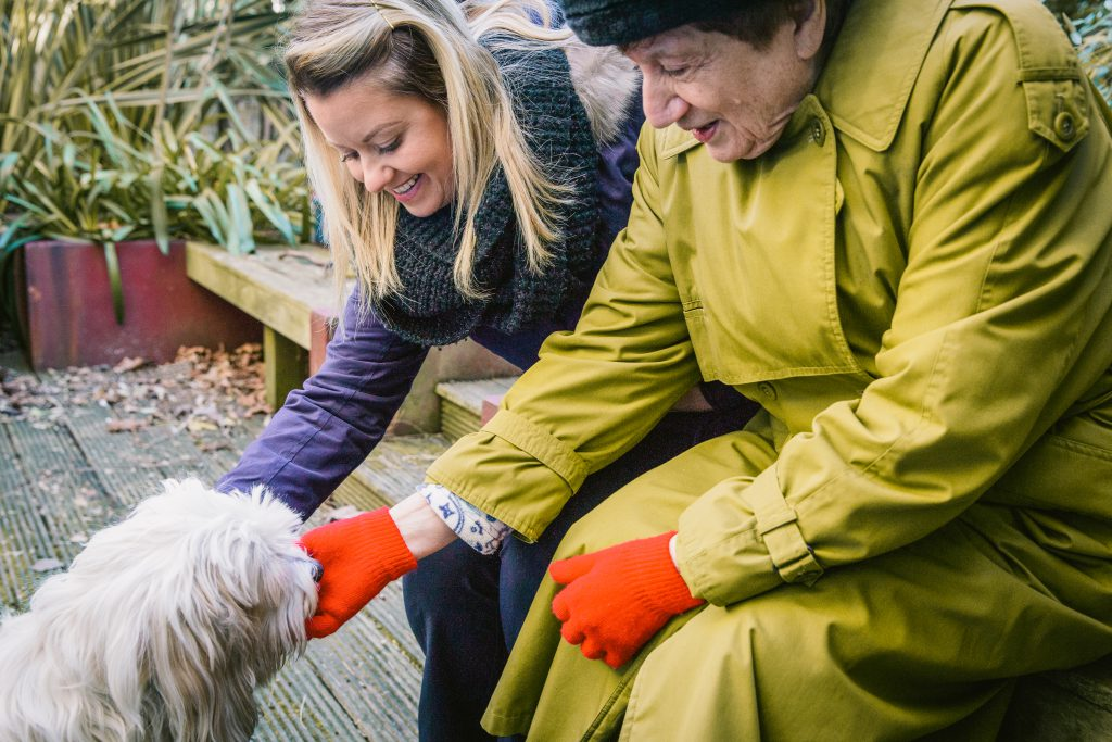 how do pets help the elderly?